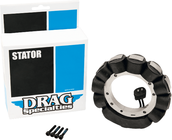 hight resolution of drag specialties 22a 12v motorcycle stator 81 88 harley touring softail fxe flh jt s cycles