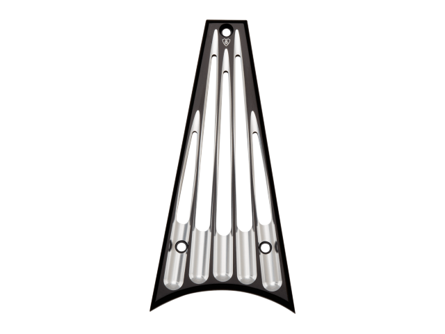 Arlen Ness Black Billet Deep Cut Frame Grill 14-16 Harley