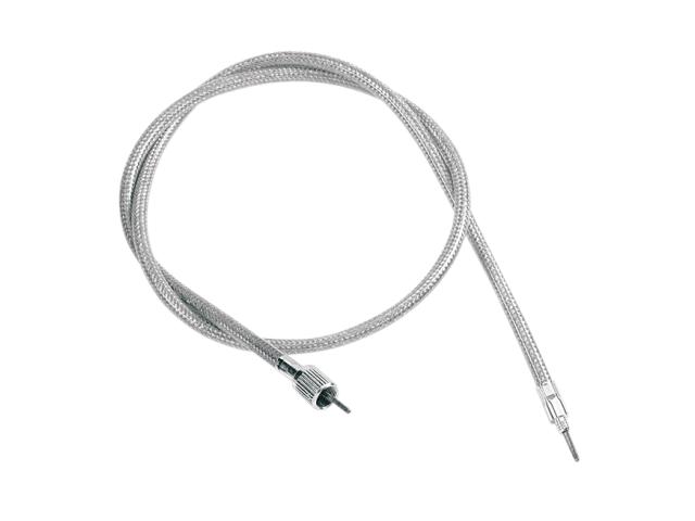 Drag Specialties Stainless Speedometer Speedo Cable 43