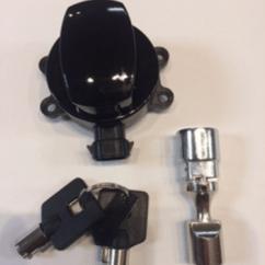 Harley Davidson Ignition Key Number Dodge Ram Switch Wiring Diagram Drag Specialties Black & Fork Lock 11-17 Softail Flstf | Jt's Cycles