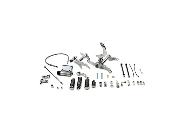 Vtwin Chrome Daniel Boone Forward Control Kit for 79-83
