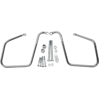 Drag Specialties Chrome Saddlebag Supports 08-17 Harley