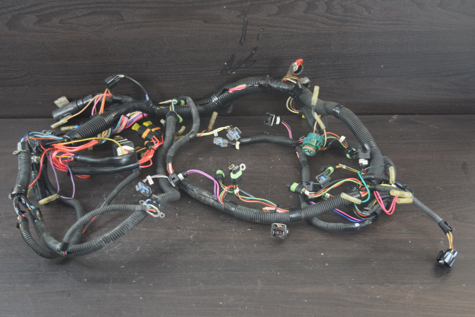 hight resolution of 1998 mercury mariner wiring harness assembly 850385a2 200 225hp dfi v6 3 0l southcentral outboards
