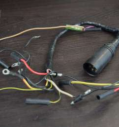 1989 1997 mercury mariner wiring harness 18672a2 30 jet 40 hp inline 4 southcentral outboards [ 1600 x 1067 Pixel ]