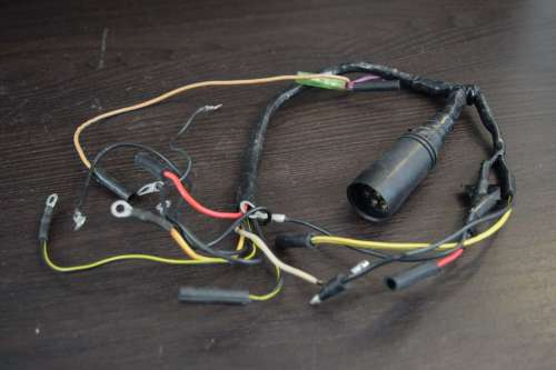 small resolution of 1989 1997 mercury mariner wiring harness 18672a2 30 jet 40 hp inline 4 southcentral outboards