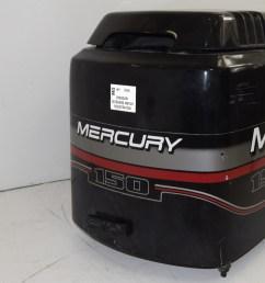 mercury nitro series xr6 hood top cowl 827328t7 1996 2006 135 140 150 175 200  [ 1600 x 1069 Pixel ]