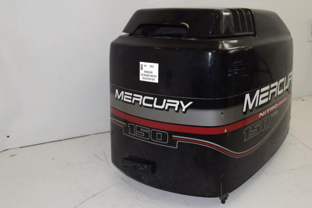 medium resolution of mercury nitro series xr6 hood top cowl 827328t7 1996 2006 135 140 150 175 200