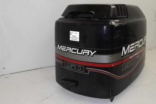 small resolution of mercury nitro series xr6 hood top cowl 827328t7 1996 2006 135 140 150 175 200