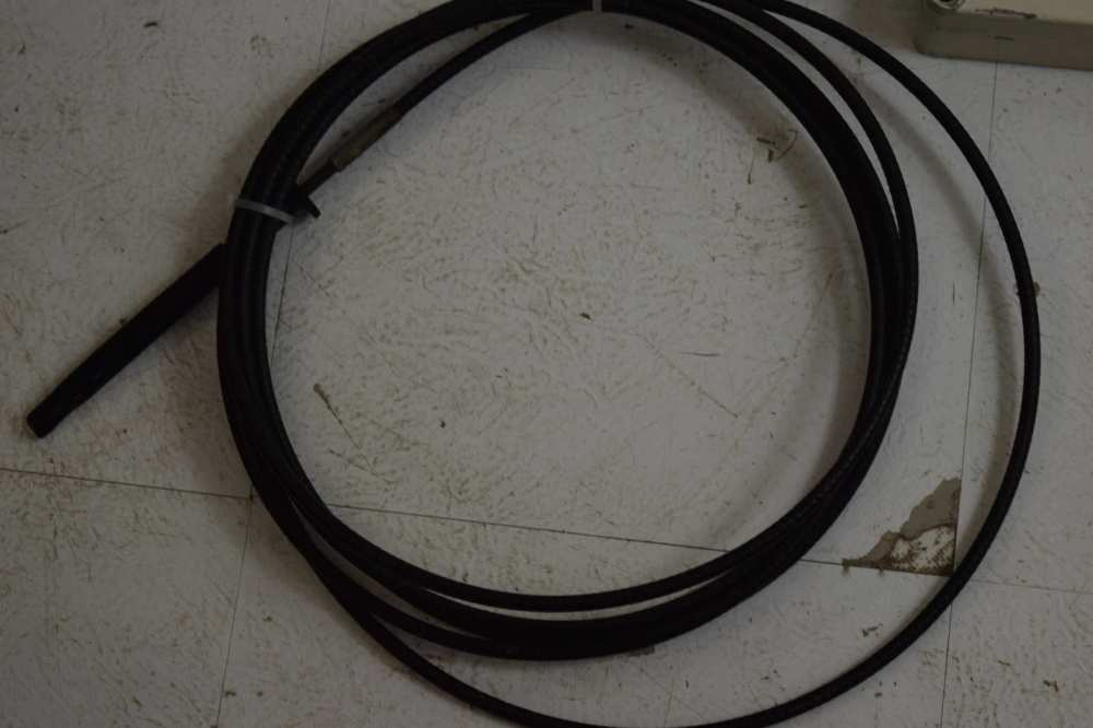 medium resolution of  1960 s omc stringer shift elect side mount control box w 16 ft cables 380505