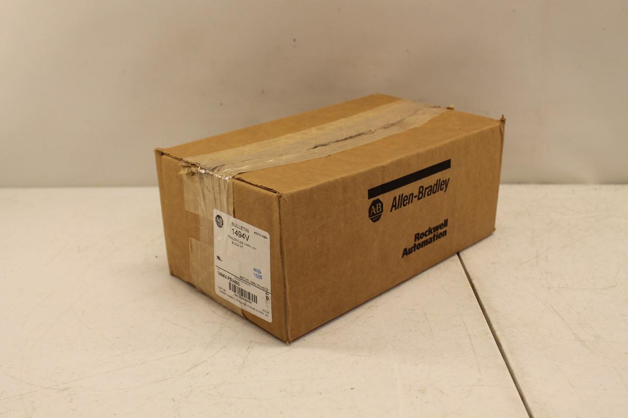 hight resolution of allen bradley 1494v fsv400 trailer fuse block kit new in box plc surplus supply llc
