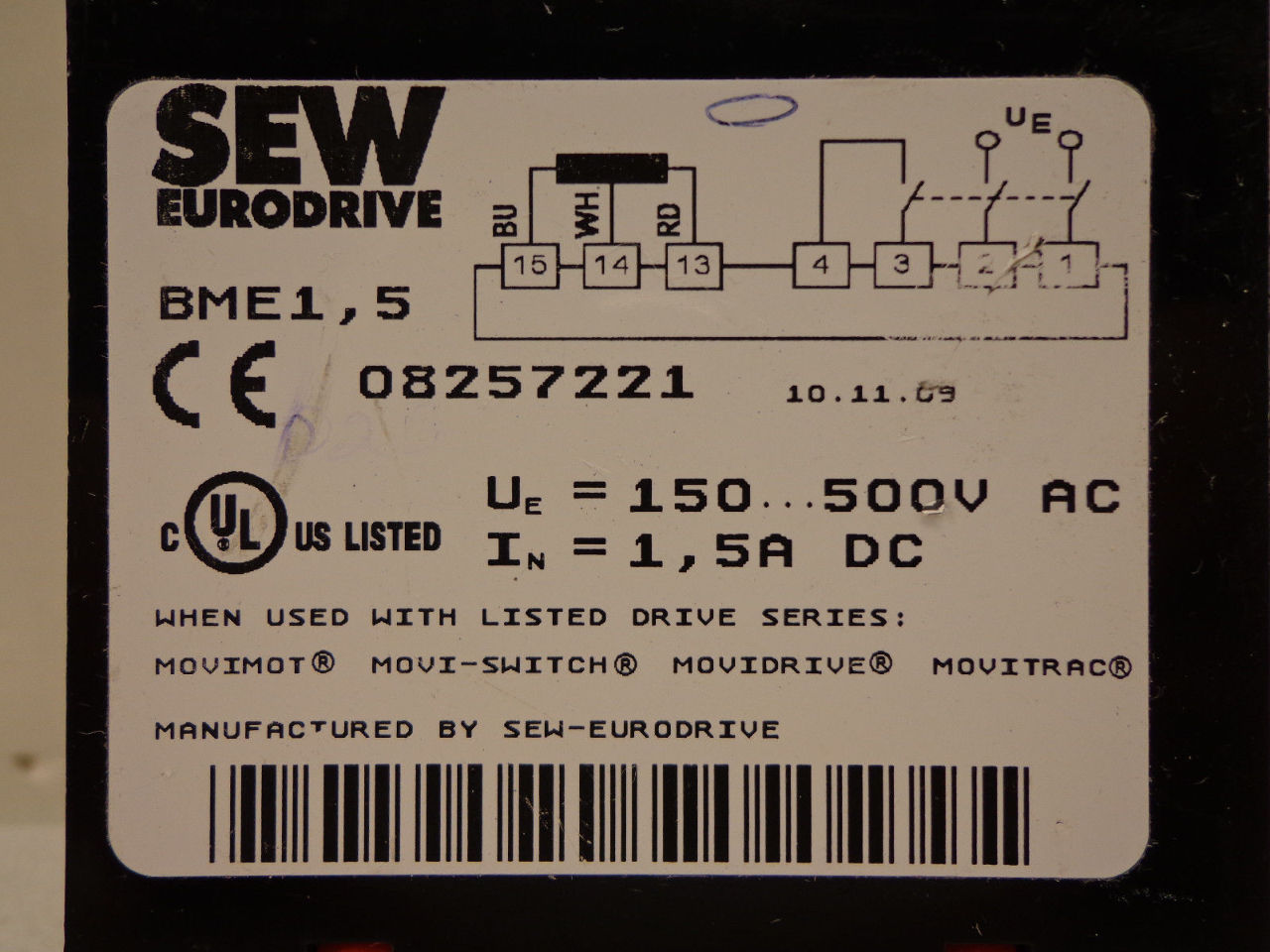 Sew Eurodrive Wiring Diagram Movitrac Motor Ke Hecho