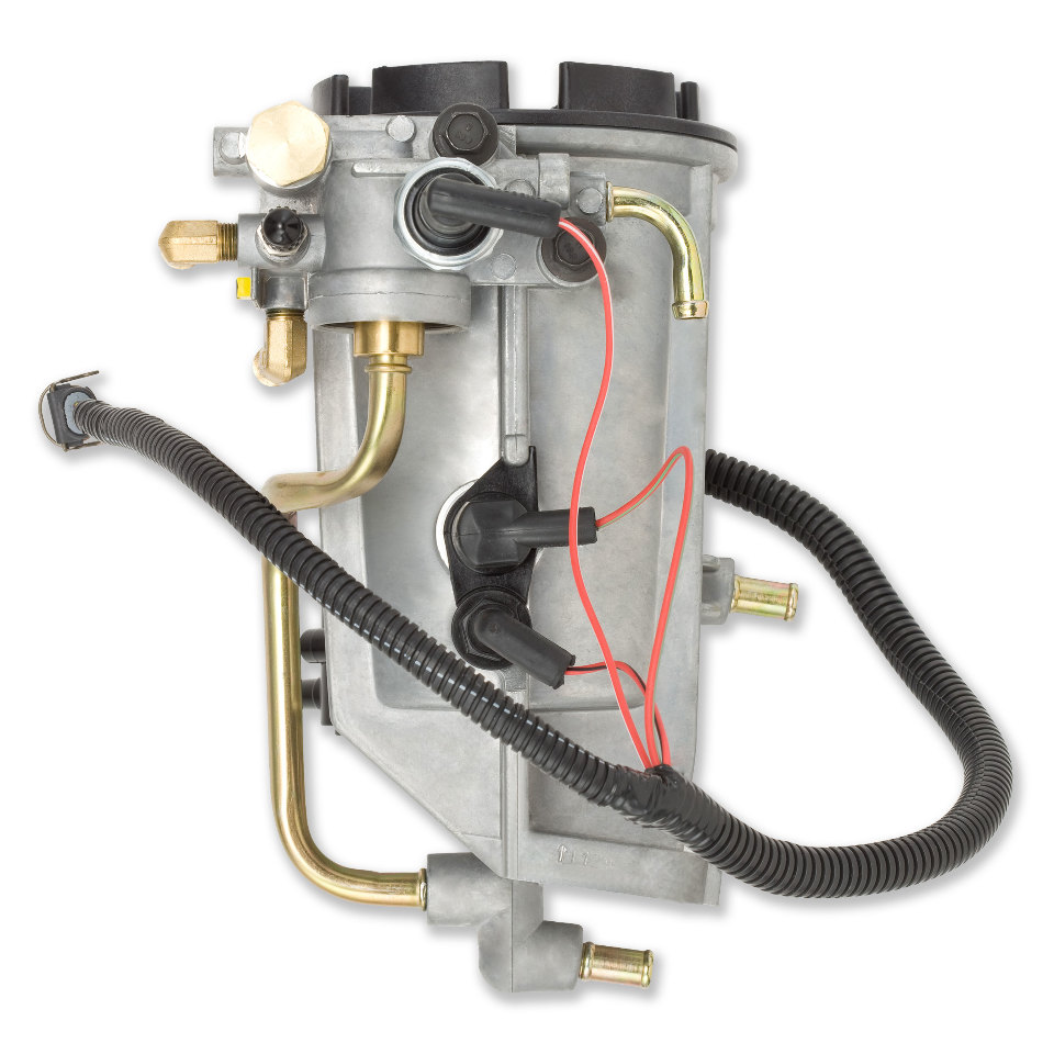 hight resolution of  1994 1998 7 3l ford power stroke fuel filter housing assembly alliant power