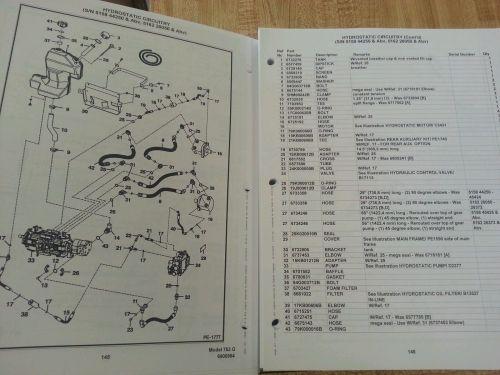 small resolution of  bobcat 753 753g skid steer parts manual book 6900984