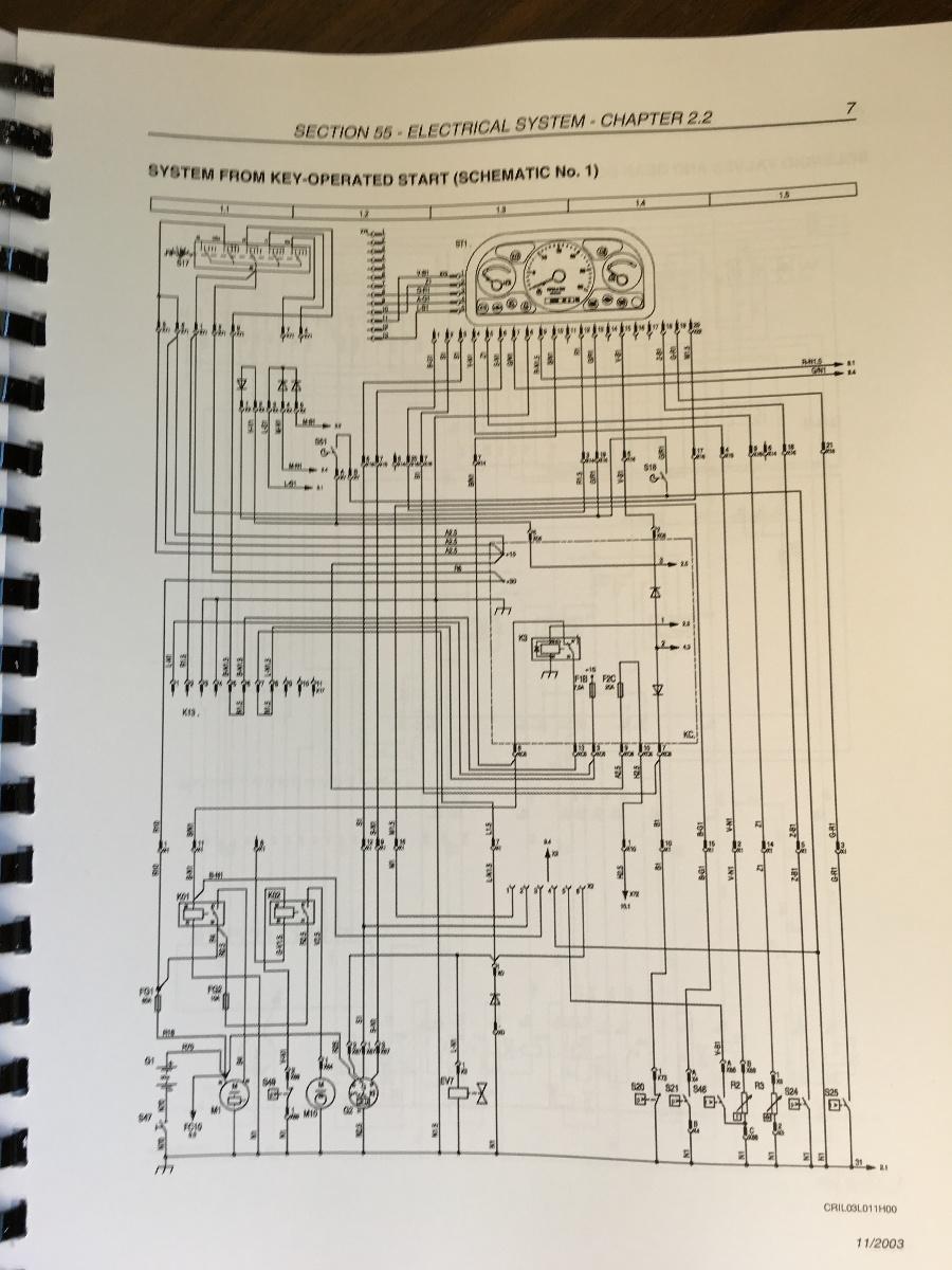 110 Electrical Schematic Wiring Diagram New Holland Lb75b Lb90b Lb95b Lb110b Lb115b 4ws Loader
