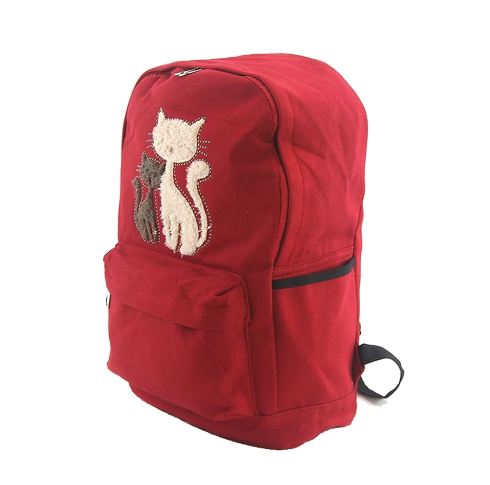 furry cat kittens backpack