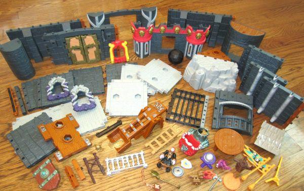 Fisher Imaginext Castle T-rex Mountain Playset Huge