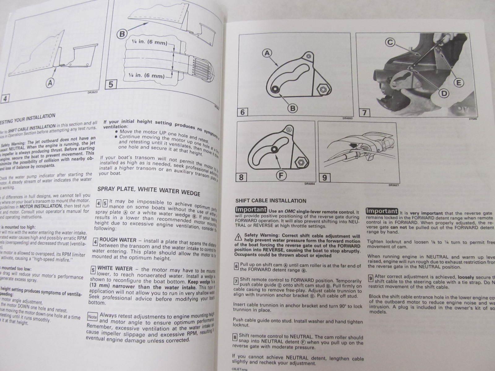 hight resolution of  array 212339 omc jet outboard operation u0026 maintenance manual supplement rh greenbayprop com