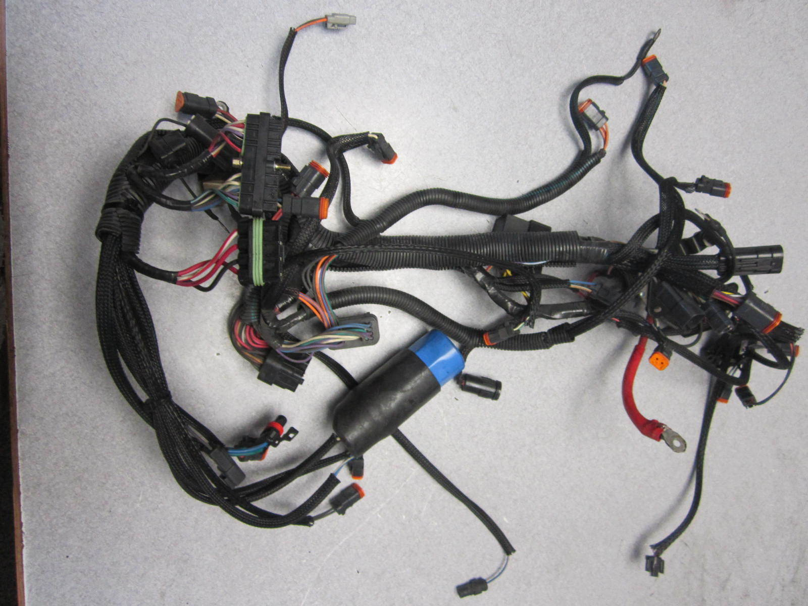 hight resolution of 586309 0586309 evinrude ficht v6 200 225 engine wire harness cable