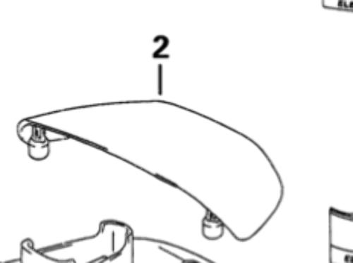 5031559 BRP/OMC Tilt Handle for Evinrude Johnson 40-50 HP