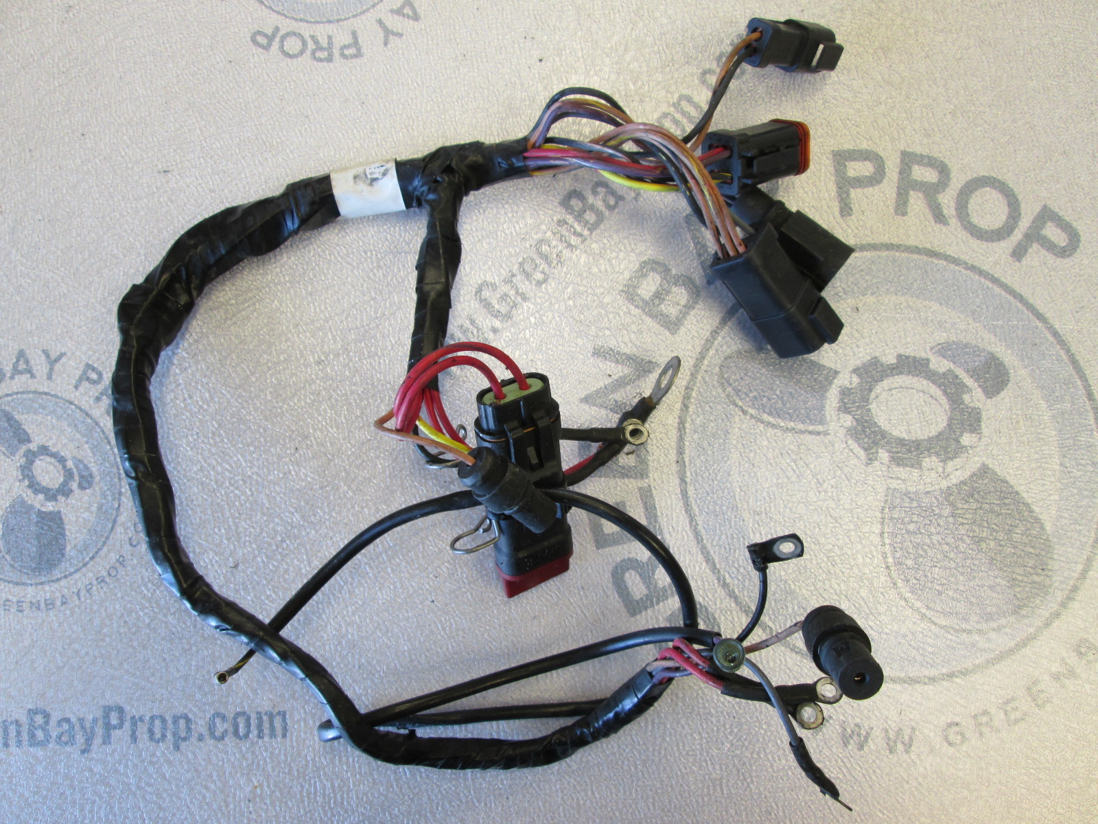 hight resolution of 0586020 evinrude johnson 40 50 55 hp outboard motor cable engine wire harness