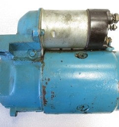 0384198 3858463 omc stringer gm chevy 6 cyl stern drive motor starter [ 1600 x 1200 Pixel ]