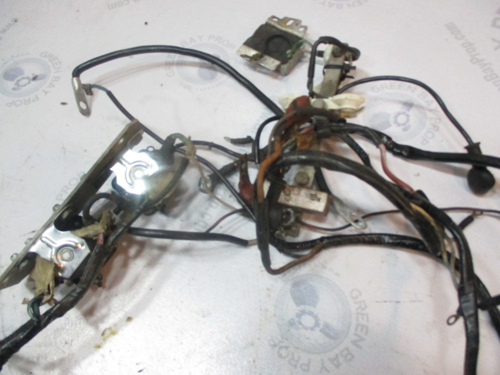 medium resolution of  980938 omc stringer ford v8 stern drive engine cable wire harness 235 hp 1976 77