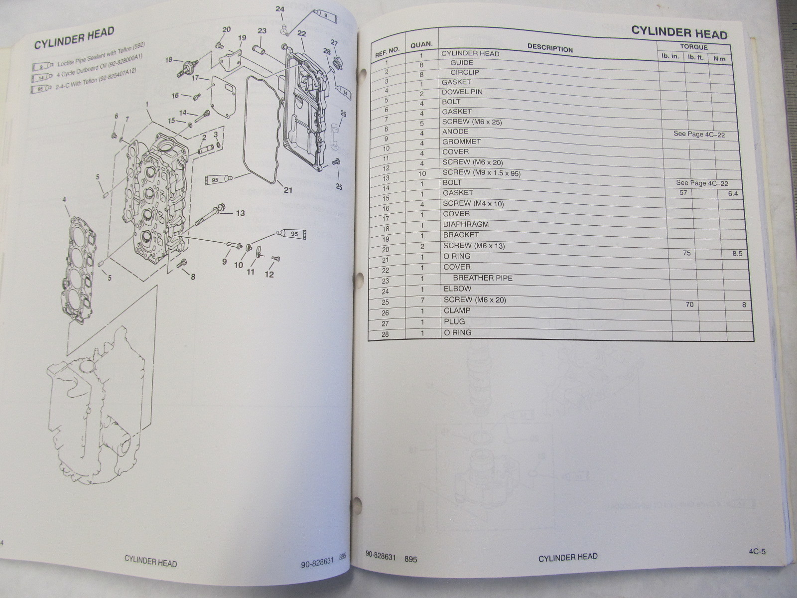 hight resolution of  1995 mercury mariner outboard service manual 45 50 hp 4 stroke