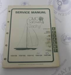 983669 omc sail drive zephyr serive manual 15 hp 1977 1983 green bay propeller marine llc [ 1600 x 1200 Pixel ]