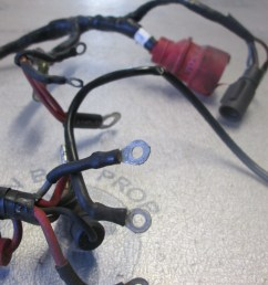 0583649 0512748 motor cable engine wire harness evinrude johnson 40 50 hp [ 1600 x 1200 Pixel ]