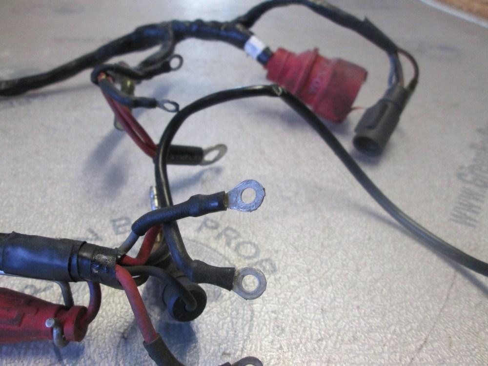 medium resolution of 0583649 0512748 motor cable engine wire harness evinrude johnson 40 50 hp