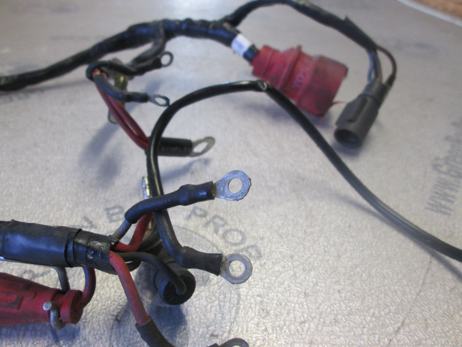 hight resolution of 0583649 0512748 motor cable engine wire harness evinrude johnson 40 50 hp