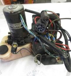 f722541 force l drive 90 120 hp trim tilt pump wire harness [ 1600 x 1200 Pixel ]