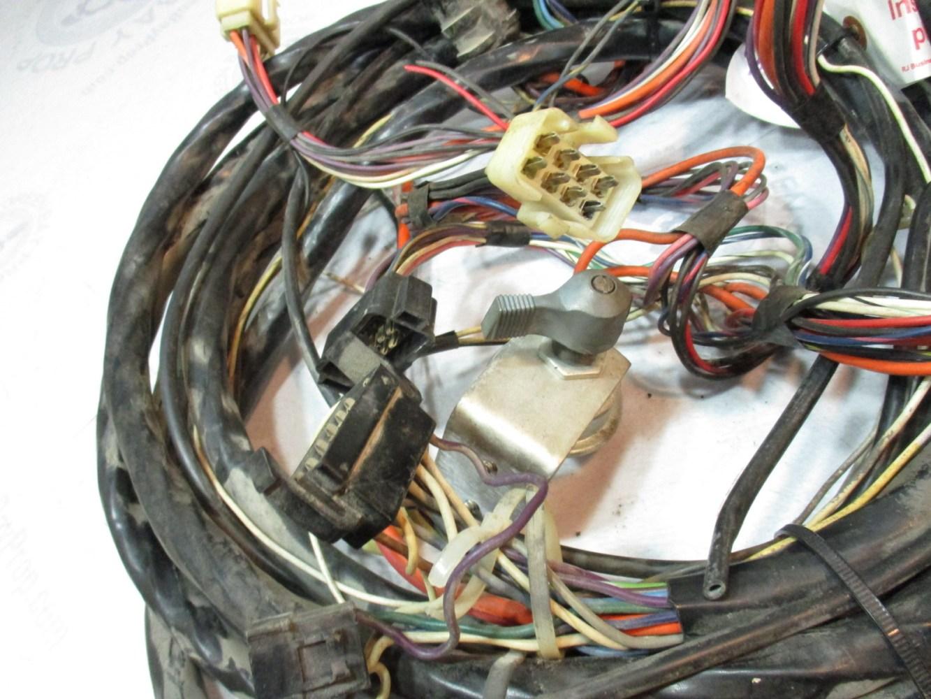 medium resolution of  omc stringer v8 1971 engine to dash 22 boat wire harness