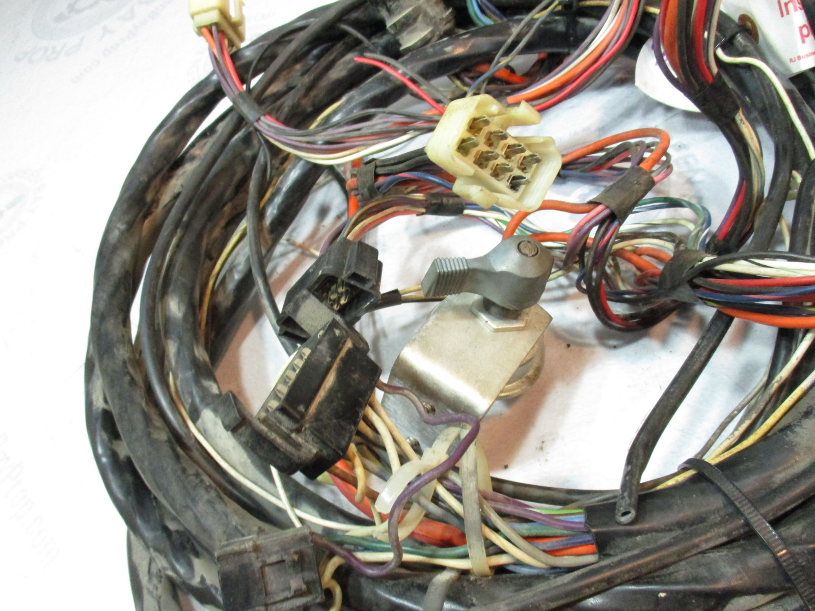 hight resolution of  omc stringer v8 1971 engine to dash 22 boat wire harness
