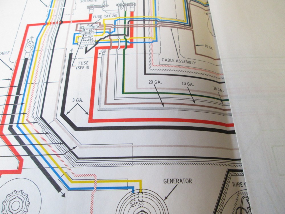 medium resolution of 1965 evinrude johnson outboard wiring diagrams 40 90 hp