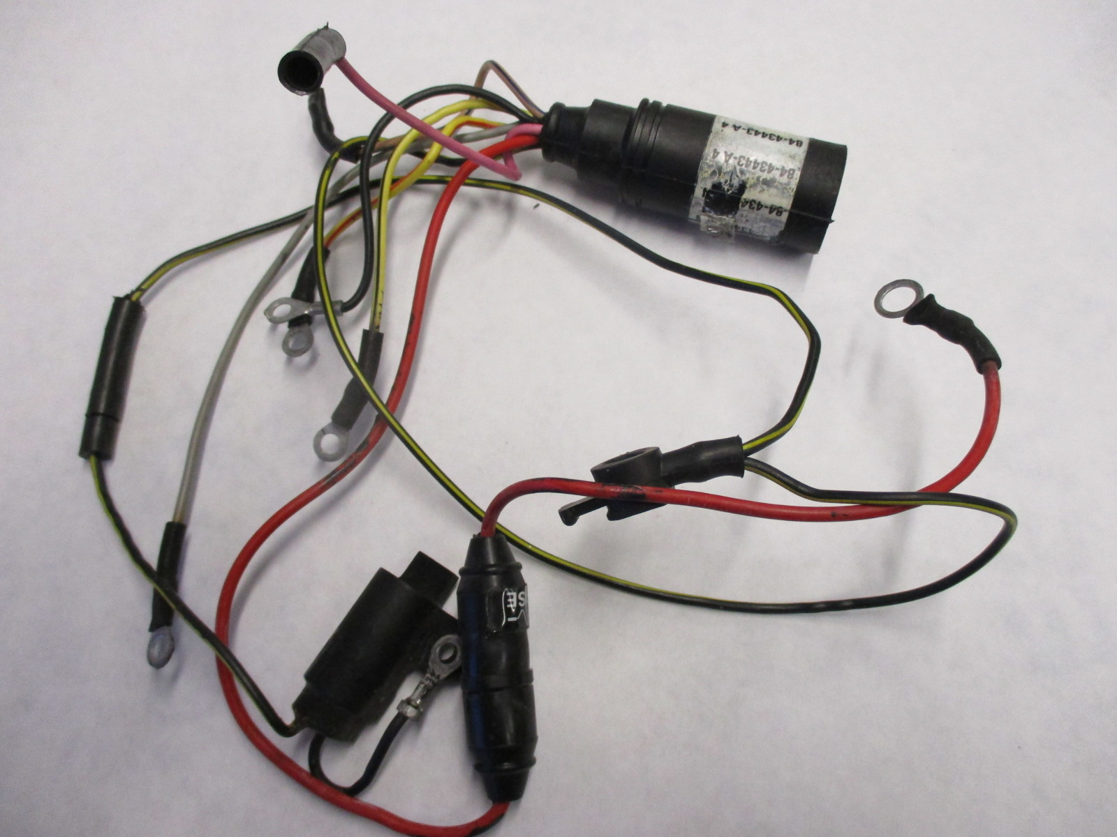 hight resolution of 84 43443a 7 mercury mariner wire harness assembly 84 43443a 9 100 125hp