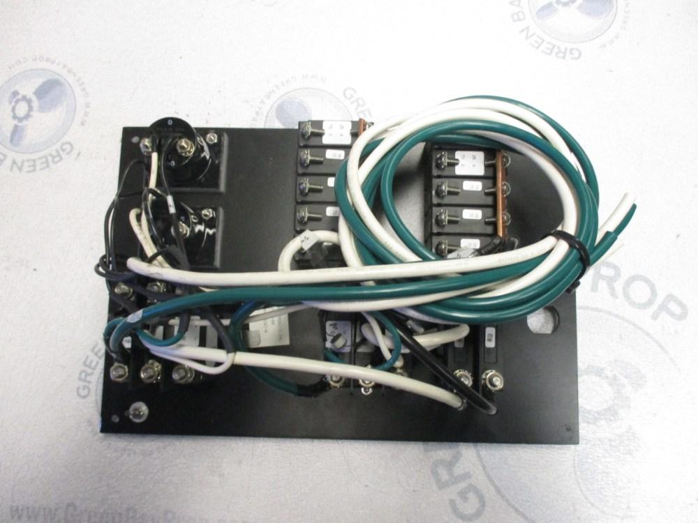 medium resolution of  marine boat breaker panel main controls 120v 60hz ac system