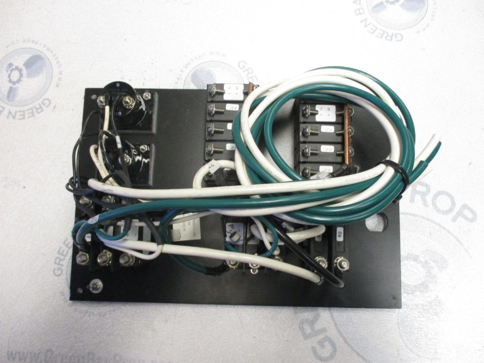 hight resolution of  marine boat breaker panel main controls 120v 60hz ac system