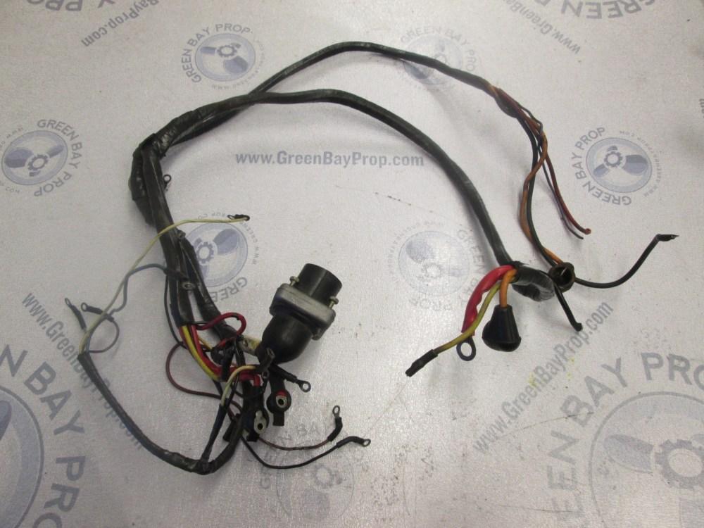 medium resolution of 84 98423a7 mercury mercruiser gm 305 chevy engine motor wire harness green bay propeller marine llc
