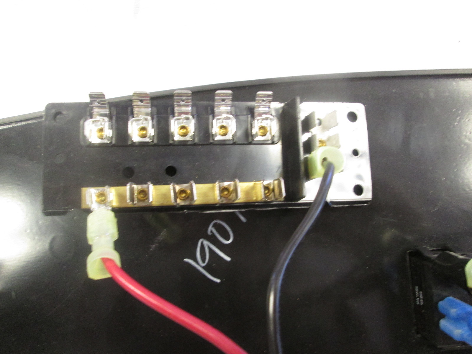 hight resolution of  custom boat accessory dash switch panel with fuse block gold gray