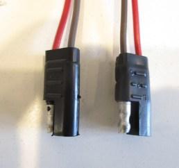 waytek 2 pin trailer wiring connector battery 16 ga 8 long molded rubber  [ 1600 x 1200 Pixel ]