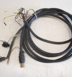 mercury mariner outboard 15 ft engine to dash key switch wire harness 8 pin plug  [ 1600 x 1200 Pixel ]