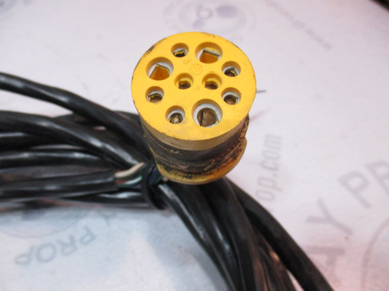 hight resolution of  omc stringer stern drive 10 pin yellow plug trim tilt wire harness
