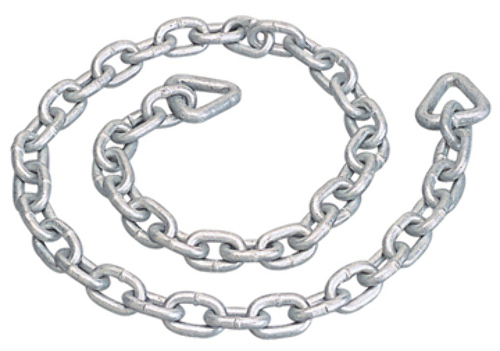 ANCHOR CHAIN, GALVANIZED-6' Overall Length, 1/4
