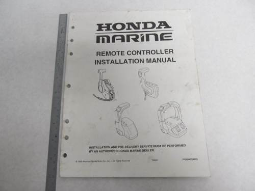 small resolution of ppd52400 honda marine remote controller installation manual 15 hp green bay propeller marine llc