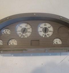 marine boat dash board gauge panel cluster set faria white  [ 1600 x 1200 Pixel ]