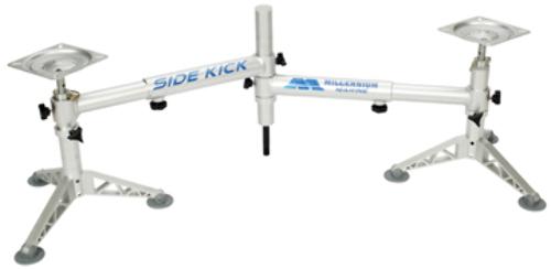 MILLENNIUM SIDEKICK Adjustable Single Post Double Seat