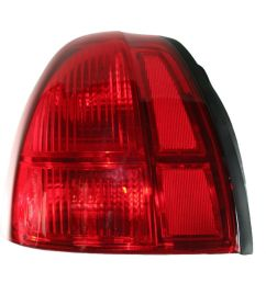 fits 03 11 lincoln town car left driver tail lamp unit busted auto parts [ 1200 x 1200 Pixel ]