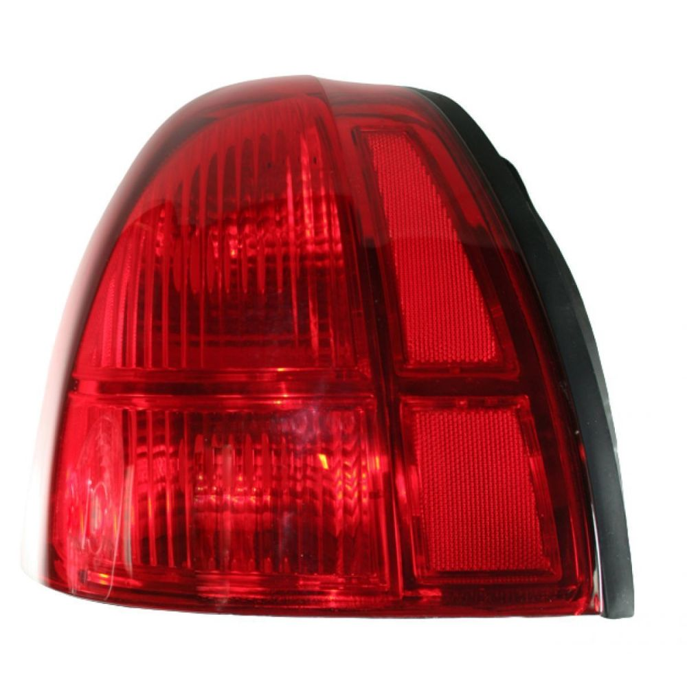 medium resolution of fits 03 11 lincoln town car left driver tail lamp unit busted auto parts