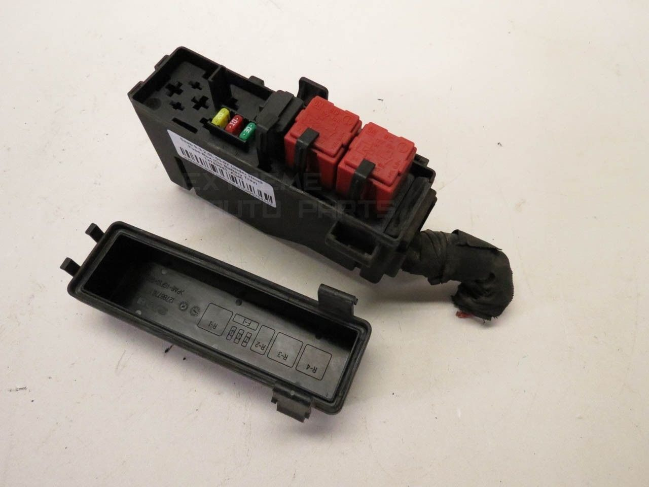 hight resolution of saab 9 3 12788777 secondary under hood fuse box on battery